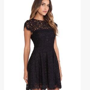 NWT BB DAKOTA Rylin Black Lace Dress